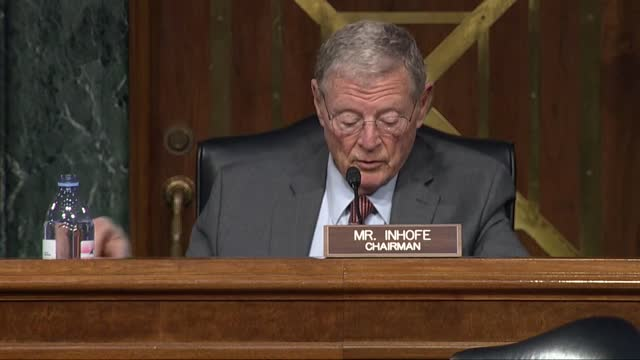 outgoing senate armed services committee chairman jim inhofe of oklahoma says at nomination hearing with retired general lloyd austin to be defense... - nomination stock videos & royalty-free footage