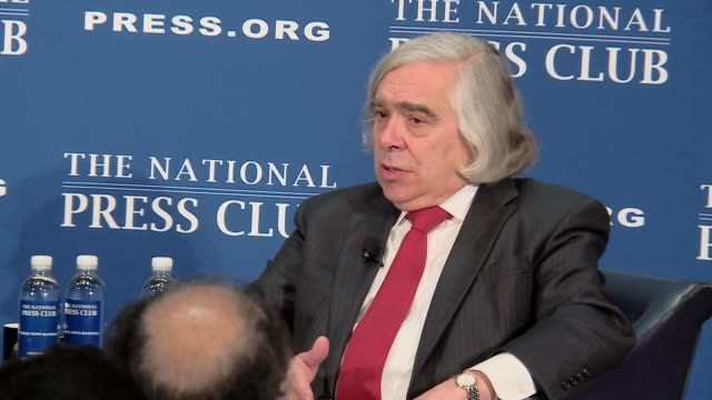 Outgoing US Energy Secretary takes questions after speech at National Press Club Bites cover section where he defends the Iran nuclear deal and Paris...