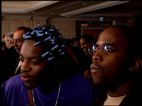 OutKast at the 1999 Grammy Awards Arista Party at the Shrine Auditorium in Los Angeles California on February 24 1999