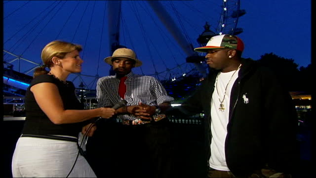 'Outkast' interview Big Boi interview SOT good that London is supporting us/ slightly worried about going on London Eye