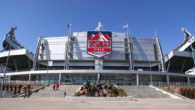 WS Outside shot of Sports Authority Field at Mile High, home of Denver Broncos / Denver, Colorado, United States