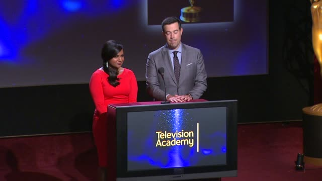 Outstanding Reality Series Program nominees announced by Carson Daly and Mindy Kaling 66th Primetime Emmy Awards Nominations Announcement at Leonard...