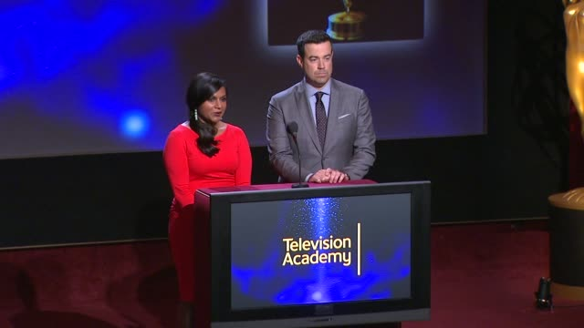 Outstanding Variety Series nominees announced by Carson Daly and Mindy Kaling 66th Primetime Emmy Awards Nominations Announcement at Leonard H...