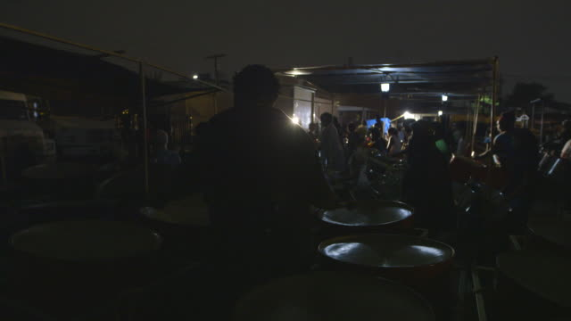 j'ouvert percussion band rehearsal, montage - ミュージシャン点の映像素材/bロール