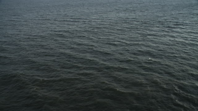oven open ocean off the new jersey coast. no horizon. shot in november 2011. - atlantic ocean stock videos & royalty-free footage