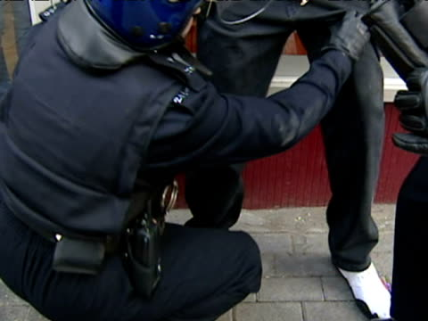 over 200 officers took part in a major drugs operation in kensal rise - searching stock videos & royalty-free footage