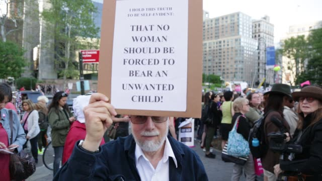 NY: Protest In New York Against The New Restrictive Abortion Laws