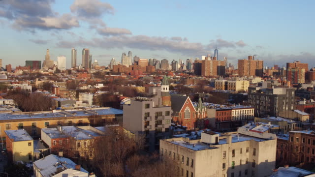 Over Bedstuy at Sunrise
