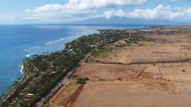 vídeos y material grabado en eventos de stock de over lahaina, hawaii - artbeats