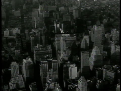 over manhattan highrises new york city midtown brooklyn or queens borough modern roadway triboro bridge w/ wpa project triboro stadium - union square new york city stock videos and b-roll footage