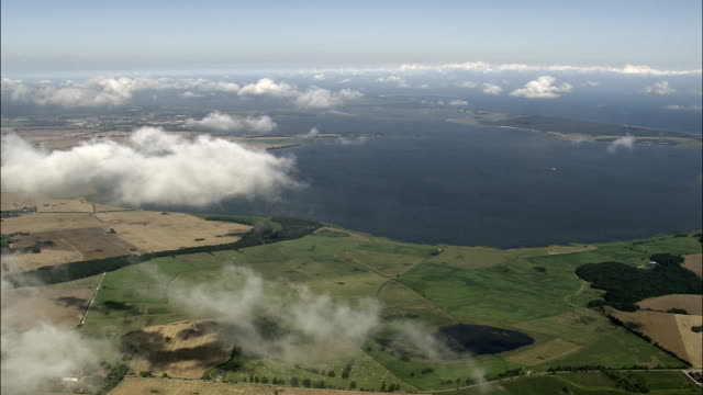 Over the Clouds Above West Pomerania  - Aerial View - Mecklenburg-Vorpommern,  Germany