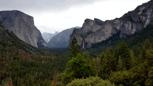 Overcast Yosemite Valley