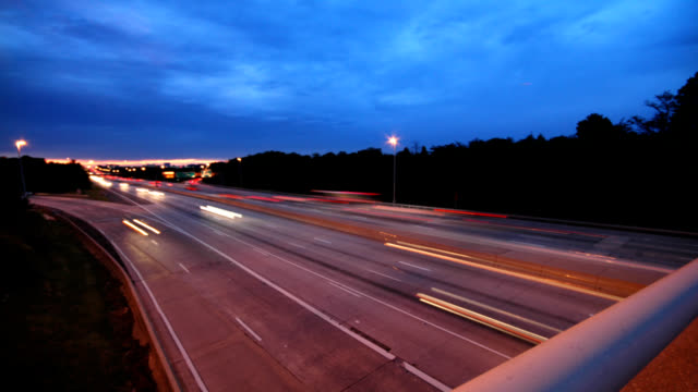 overpass traffic - altocumulus stock videos and b-roll footage