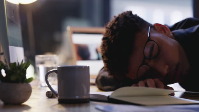overworked and feeling it - employment and labor stock videos & royalty-free footage