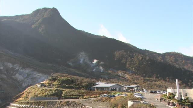 Owakudani Valley In Hakone