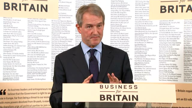 owen paterson speech on britain and the european union qa session paterson answering questions sot - owen paterson stock videos and b-roll footage