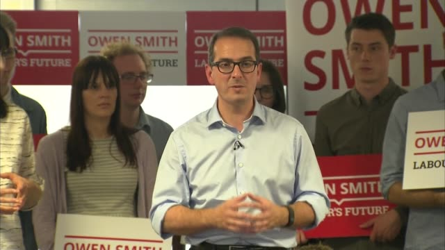 owen smith speech owen smith mp - owen smith politician stock videos & royalty-free footage