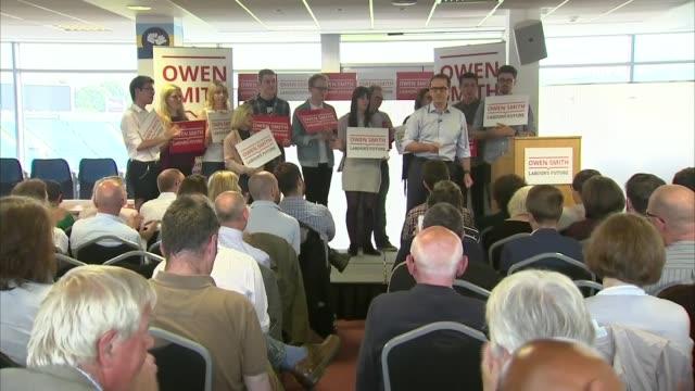 owen smith speech owen smith mp speech sot - owen smith politician stock videos & royalty-free footage