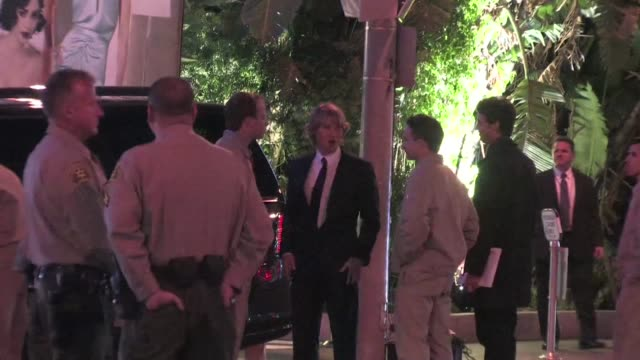 owen wilson arrives at the 2012 vanity fair oscar party in west hollywood ca 02/26/12 - oscar party stock-videos und b-roll-filmmaterial