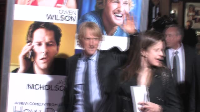 Owen Wilson at the How Do You Know Premiere at the Regency Village Theatre in Westwood at the Celebrity Sightings in Los Angeles at Los Angeles CA