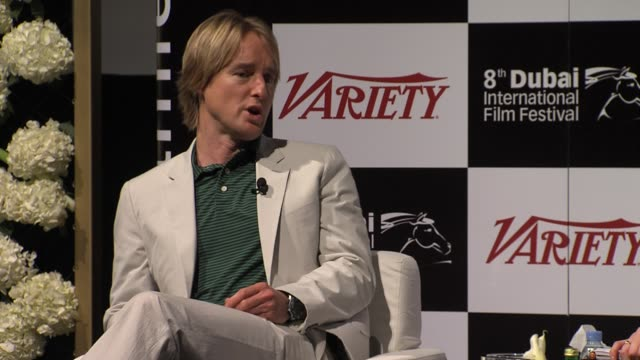 owen wilson on being offered a role in' midnight in paris' and meeting woody allen at variety international star of the year award winner owen wilson... - woody allen stock videos & royalty-free footage