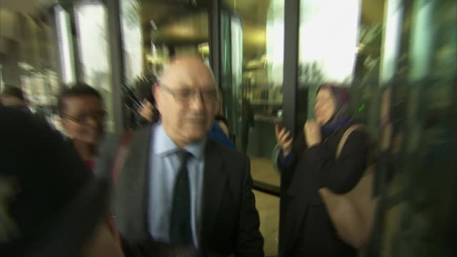 chief executive apologises to mps / thousands cancel donations england london portcullis house photography** mark goldring arriving at building... - スクラム点の映像素材/bロール