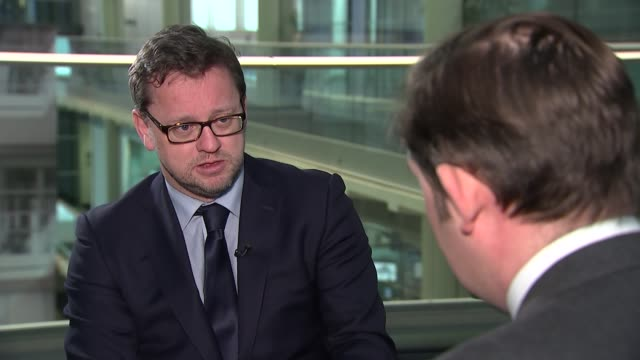 Penny Mordaunt to meet National Crime Agency chief London GIR INT Rob Wilson set up shots with reporter / interview SOT