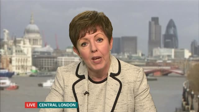 oxfam criticised by charity watchdog over haiti sexual abuse claims england london gir int baroness stowell 2 way interview from central london sot - haiti stock videos & royalty-free footage