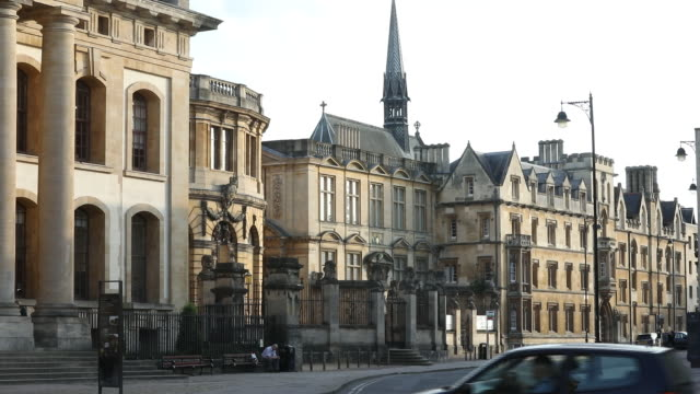 oxford colleges and general views oxford oxfordshire united kingdom on wednesday may 27 2020 - film montage stock videos & royalty-free footage