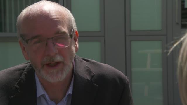 oxford coronavirus vaccine trials: professor andrew pollard interview; england: oxfordshire: oxford: ext professor andrew pollard interview continued... - oxfordshire stock videos & royalty-free footage