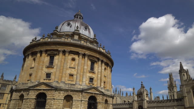 oxford university, england uk - bodleian library stock videos and b-roll footage