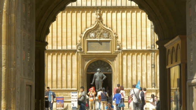 oxford,bodleian library,zi, - bodleian library stock videos and b-roll footage