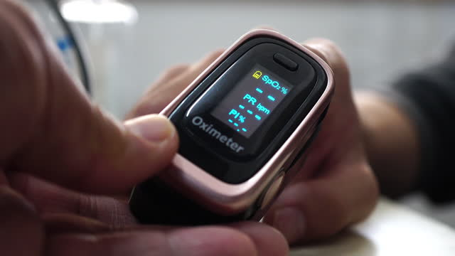 oximeter - monitoring equipment stock videos & royalty-free footage