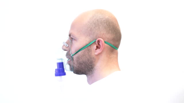 oxygen mask - oxygen mask stock videos and b-roll footage