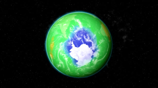 ozone depletion - antarctica stock videos & royalty-free footage
