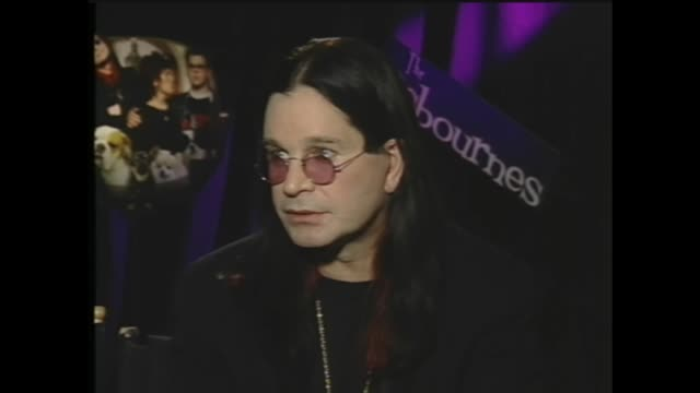 ozzy osbourne on the censorship of swear words - ozzy osbourne stock videos & royalty-free footage