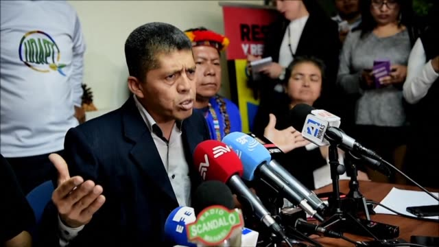 Pablo Fajardo on behalf of the victims of environmental damage caused during oil operations in the Ecuadoran Amazon says they will defend at all...
