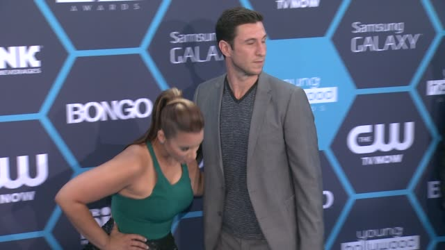 pablo schreiber at 16th annual young hollywood awards at the wiltern on july 27, 2014 in los angeles, california. - パブロ シュライバー点の映像素材/bロール