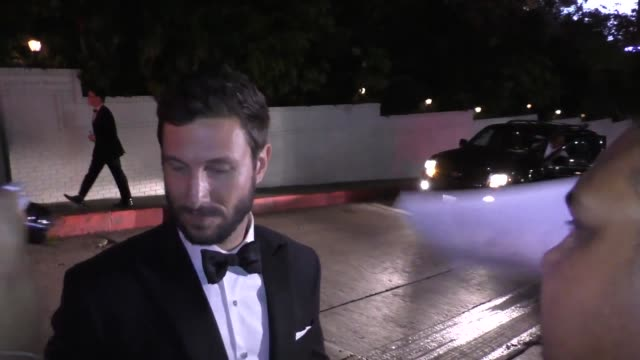 pablo schreiber at the netflix emmy award after party at chateau marmont on september 20, 2015 in los angeles, california. - パブロ シュライバー点の映像素材/bロール