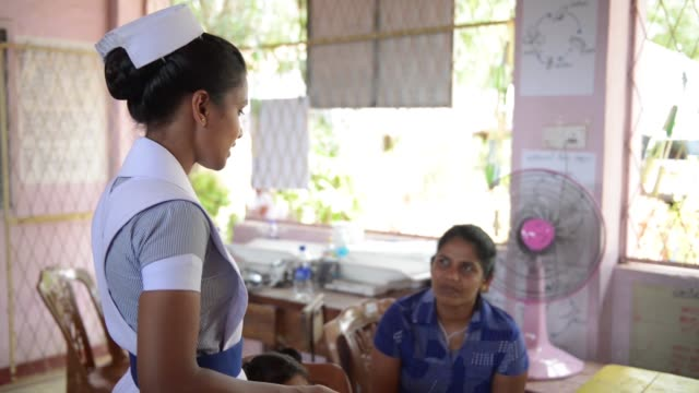 pacific angel 1804 service outreach centre in sri lanka provides medical care to the local community - medical resident stock videos and b-roll footage