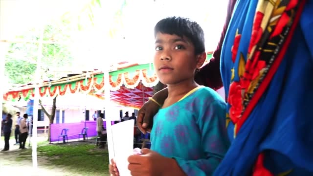 pacific angel 191 service outreach centre in rangpurt bangladesh provides medical and humanitarian care to the local community - indian culture stock videos & royalty-free footage