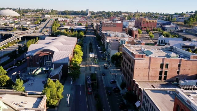 Pacific Avenue, Tacoma - Aerial View