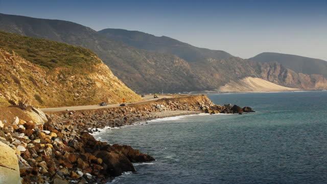 Pacific Coast Highway -南カリフォルニアのビーチ