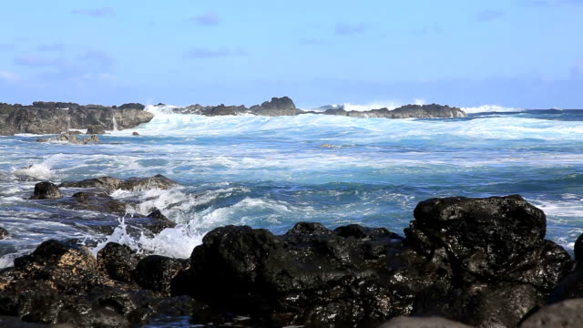 Pacific Coast Landscape, Easter Island, Chile