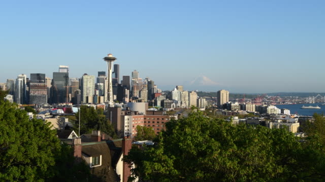 pacific northwest - space needle stock videos & royalty-free footage