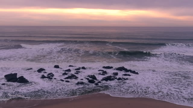 pacific ocean at sunset - rolling stock videos & royalty-free footage