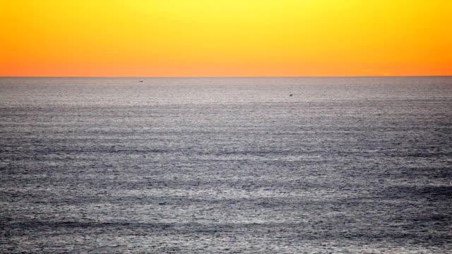 hd oceano pacifico tramonto - costa dell'oregon video stock e b–roll