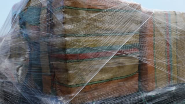 stockvideo's en b-roll-footage met packages of drugs are seen on the deck of the u.s. coast guard ship legare before the crew offloads the approximately 12 tons of cocaine and 1 ton of... - drug gefabriceerd object
