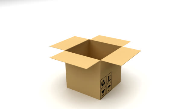 packaging box - box container stock videos and b-roll footage