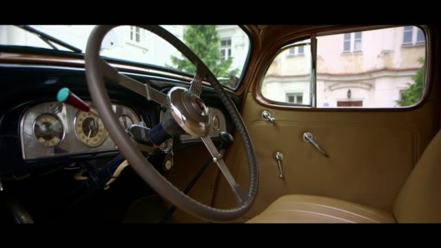 packard 120 - interior - matte image technique stock videos & royalty-free footage
